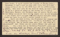 Letter from Katherine Anne Porter to Paul Porter Jr., September 30, 1960