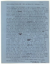 Letter from Katherine Anne Porter to Glenway Wescott, March 06, 1960