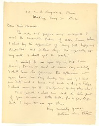 Letter from Katherine Anne Porter to Barbara Harrison Wescott, May 30, 1932