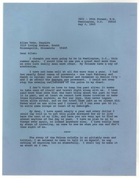 Letter from Katherine Anne Porter to Allen Tate, May 04, 1965