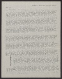 Letter from Katherine Anne Porter to Albert Erskine, March 17, 1938