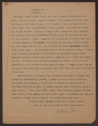 Letter from Katherine Anne Porter to Eugene Pressly, November 16, 1931