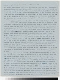 Letter from Katherine Anne Porter to Gay Porter Holloway, January 10, 1956