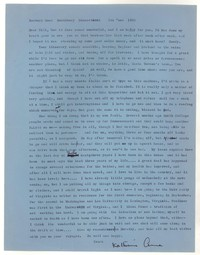 Letter from Katherine Anne Porter to William Humphrey, June 05, 1958