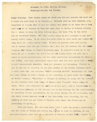 Letter from Katherine Anne Porter to Peggy Cowley, December 09, 1931