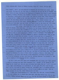 Letter from Katherine Anne Porter to James Stern, July 23, 1963