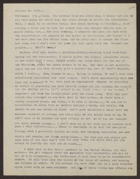 Letter from Katherine Anne Porter to Eugene Pressly, January 20, 1932
