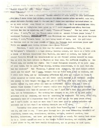 Letter from Katherine Anne Porter to Flannery O'Connor, August 12, 1963