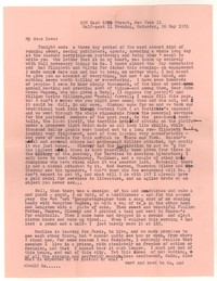 Letter from Katherine Anne Porter to William Goyen, May 26, 1951