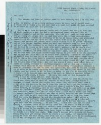 Letter from Katherine Anne Porter to Gay Porter Holloway, after March 27, 1948