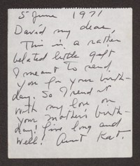 Letter from Katherine Anne Porter to David P. Heintze, June 05, 1971