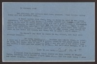 Letter from Katherine Anne Porter to Ann Holloway Heintze, January 14, 1946