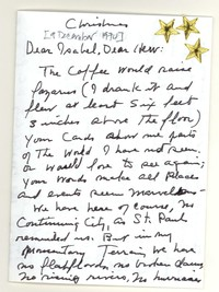Letter from Katherine Anne Porter to Isabel Bayley and W. Hewitt Bayley, December 09, 1974