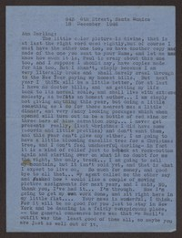 Letter from Katherine Anne Porter to Ann Holloway Heintze, December 18, 1946