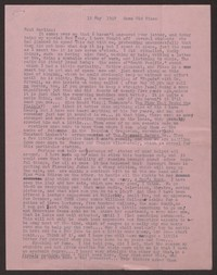 Letter from Katherine Anne Porter to Paul Porter Jr., May 15, 1949