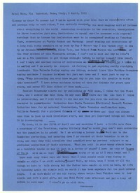 Letter from Katherine Anne Porter to Glenway Wescott, April 02, 1963