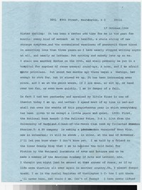 Letter from Katherine Anne Porter to Gay Porter Holloway, October 17, 1966