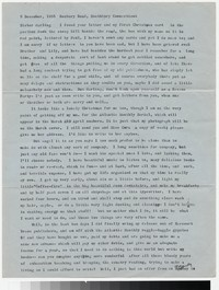 Letter from Katherine Anne Porter to Gay Porter Holloway, December 05, 1955