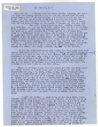 Letter from Katherine Anne Porter to James Stern, January 11, 1955