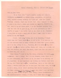 Letter from Katherine Anne Porter to William Goyen, June 24, 1951
