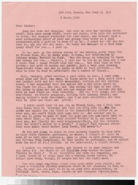Letter from Katherine Anne Porter to Gay Porter Holloway, March 08, 1950