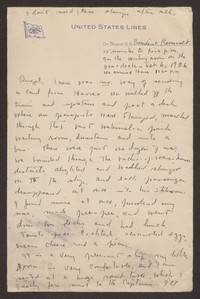 Letter from Katherine Anne Porter to Eugene Pressly, February 06, 1936