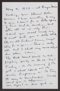 Letter from Katherine Anne Porter to Albert Erskine, May 04, 1939