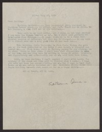 Letter from Katherine Anne Porter to Albert Erskine, July 27, 1939