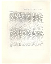 Letter from Katherine Anne Porter to George Platt Lynes, July 12, 1948