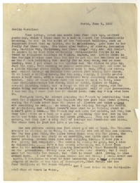 Letter from Katherine Anne Porter to Caroline Gordon, June 09, 1935