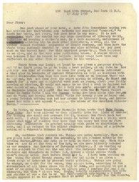 Letter from Katherine Anne Porter to James Stern, July 15, 1950