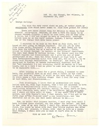 Letter from Katherine Anne Porter to George Platt Lynes, September 26, 1937