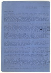 Letter from Katherine Anne Porter to Donald Elder, December 14, 1945
