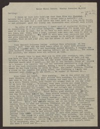 Letter from Katherine Anne Porter to Eugene Pressly, November 09, 1936
