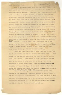 Letter from Katherine Anne Porter to Ford Maddox Ford and Janice Biala, August 21, 1933