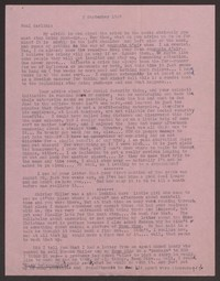 Letter from Katherine Anne Porter to Paul Porter Jr., September 03, 1949