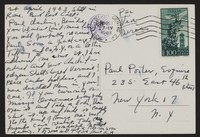 Letter from Katherine Anne Porter to Paul Porter Jr., April 24, 1963