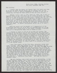 Letter from Katherine Anne Porter to Albert Erskine, September 15, 1940