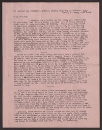 Letter from Katherine Anne Porter to Paul Porter Jr., November 29, 1954