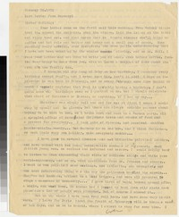 Letter from Katherine Anne Porter to Gay Porter Holloway, January 30, 1932