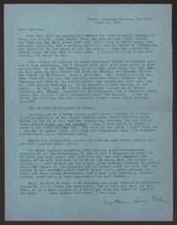 Letter from Katherine Anne Porter to Albert Erskine, June 14, 1941