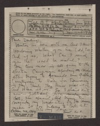 Letter from Katherine Anne Porter to Paul Porter Jr., October 24, 1944
