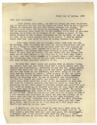 Letter from Katherine Anne Porter to Caroline Gordon, March 21, 1935
