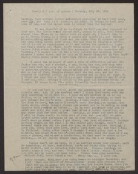 Letter from Katherine Anne Porter to Albert Erskine, July 26, 1938