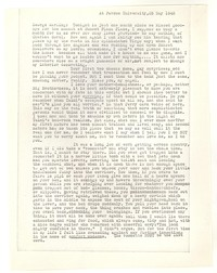 Letter from Katherine Anne Porter to George Platt Lynes, May 25, 1948