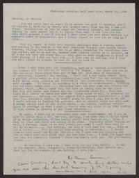 Letter from Katherine Anne Porter to Albert Erskine, March 30, 1938