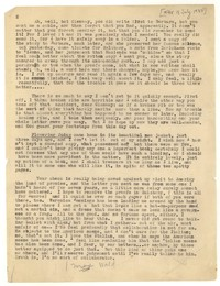 Letter from Katherine Anne Porter to Glenway Wescott, July 18, 1934