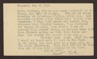 Letter from Katherine Anne Porter to Paul Porter Jr., May 26, 1949