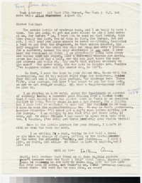 Letter from Katherine Anne Porter to Gay Porter Holloway, before August 14, 1954