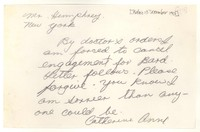 Letter from Katherine Anne Porter to William Humphrey, December 13, 1950